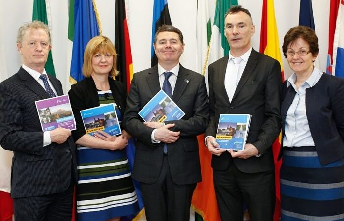 Minister Donohoe marks Europe Day with launch of EU in my Region Publications
