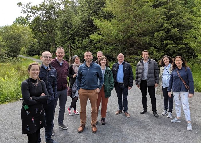 OURWAY Stakeholder Event Group photo in park