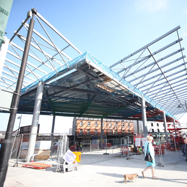 THE APPLE MARKET WATERFORD Under Construction