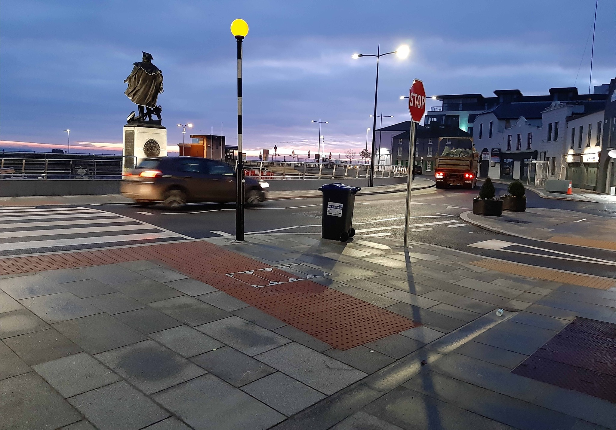 Crescent Quay in Wexford Town
