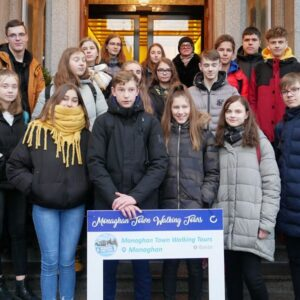Schools in Co. Monaghan and Vilnius come together with the help of the Erasmus+
