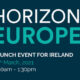 Horizon Launch Event 25 March 9.30