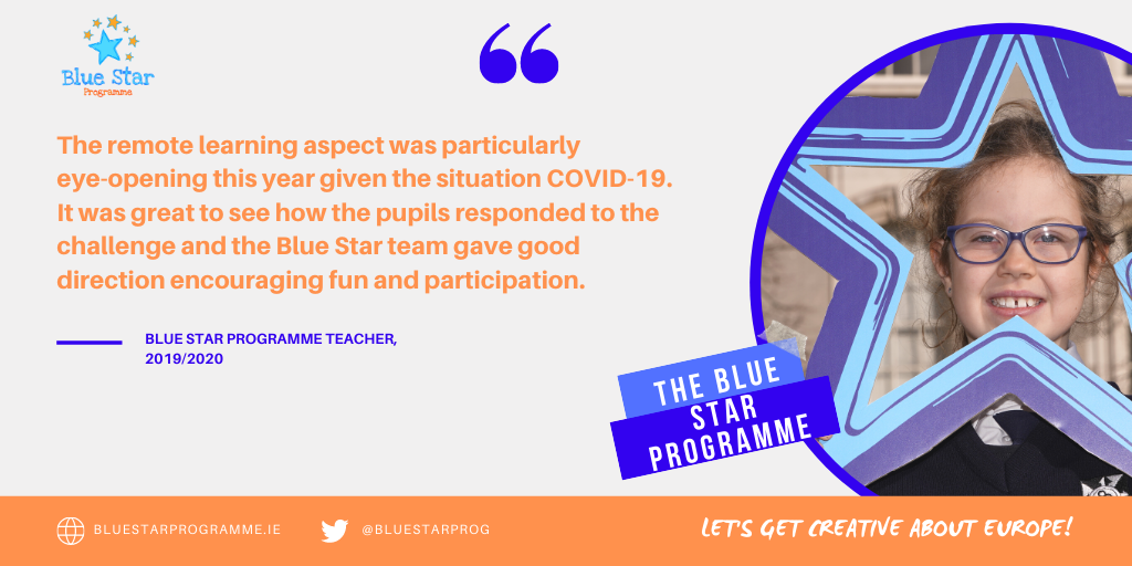 Blue Star Programme Quote