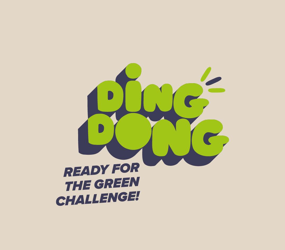 DingDong Green Challenge Logo