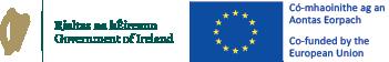 Government of Ireland Mark and EU Emblem